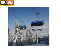 Brawa H0 6347 Sesselbahn-Seilbahn 6er-Sessel Ergänzungsset - NEU + OVP