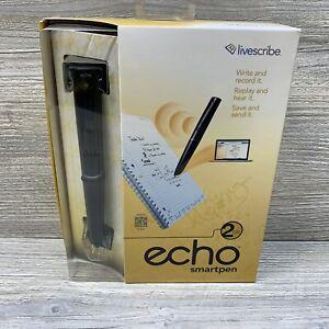 Livescribe ECHO 2GB Smartpen STARTER PACK w/ Notebook Smart Pen New Open Box