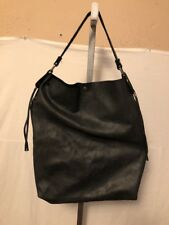 Gianni Notaro Made In Italy Leather Black With Wallet XL Hobo