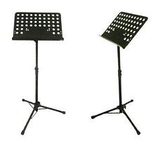 Notation / Music Book Stand HEAVY QUALITY BLACK COATED( Portable & Compact )