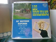 FACTORY SEALED TEX/MEX GARAGE ROCK & ROLL LP~LOS HOOLIGANS~BAT MASTERSON &