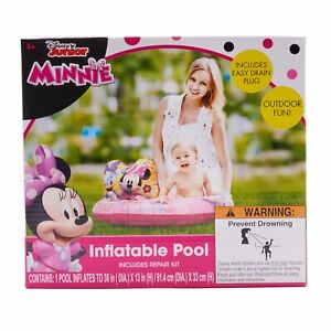 Minnie Inflatable Pool 36in Dia.