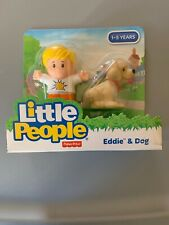 Fisher Price Little People Animal 2 Pack Eddie Dog puppy pet shop boy NEW House