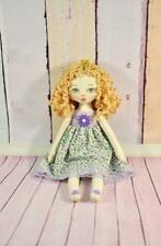 Little Textile Princess Doll , Fairy Rag Doll, Handmade Small Soft Doll