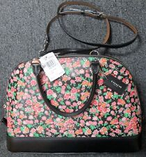 NWT COACH F57622 SIERRA SATCHEL POSEY CLUSTER FLORAL PRINT PURSE $395