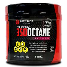 Body Shop Nutrition - 350 Octane Pre-workout (Fruit Punch)