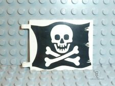 LEGO® Piraten Zubehör 1x große Flagge 2525p01 Piraten/Totenkopf aus 6285 R545