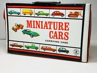 1966 Miniature Cars Carrying Case for Hot Wheels Matchbox With 1 Tray