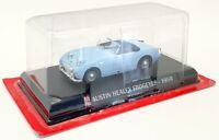 Altaya 1/43 Scale Model Car G1193059 - 1959 Austin Healey Frogeyes - Blue