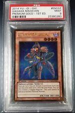 YuGiOh PSA 9 Gagaga Magician 1st edition Premium Gold PGLD-EN037 Mint Ultra Rare