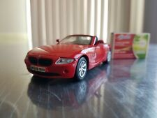 BMW Z4 Car Metal Model Car Red Scale 1/36 - Maisto - From My Own Collection