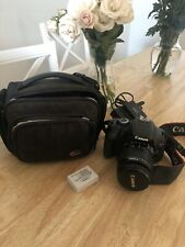Canon EOS Rebel T3i / EOS 600D 18.0MP Digital SLR Camera Black + 2 Lens + Bag
