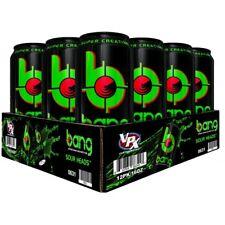 VPX BANG Energy Drink Creatine BCAA Amino Acids CASE OF 12 + FREE SHIPPING!