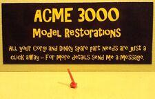 Dinky 739 A6M5 ZERO SEN reproduction repro-en plastique rouge Antenne