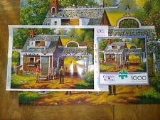 Charles Wysocki 1000 Piece Jigsaw Puzzle Pigeon Pals Buffalo Games w/poster