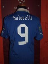 BALOTELLI EURO 2012 ITALY ITALIA MAGLIA SHIRT CALCIO SOCCER FOOTBALL JERSEY