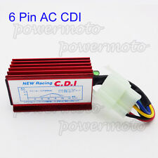6 Pin Racing AC CDI Box For 50 110 125 150 250 cc Chinese ATV Quad Dirt Pit Bike