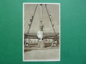 HMS Ganges Vintage Postcard 'Figure Head' 1939-45 Unposted Superb Condition RARE