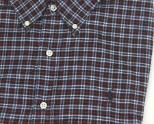 Ralph Lauren Button-down Casual Dress Shirt Large L/S Black Plaid Polo Pony