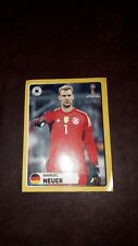 Panini Sticker WM 2018 Manuel Neuer McDonald's