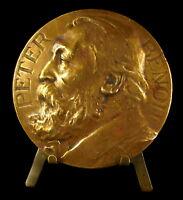 Medal Petrus Leonardus Leopoldu Peter Benoit Composer Composer Belgian Medal