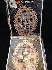 Needle Magic Lace Net Darning Medallion Kit & Morning Star - 2 Kits - New!