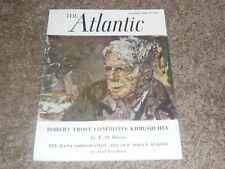 The Atlantic Magazine  September 1963 Rand Corporation / Robert Frost Khrushchev