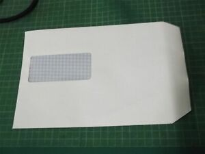 500x Windowed White A5 C5 Self Seal Business Envelopes 229 x 162mm