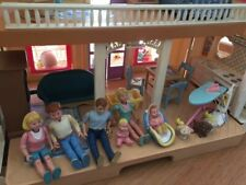 Fischer Price Dolls house with family and furniture