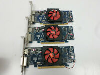Lot of 3 AMD RADEON C264 Display Port + DVI Graphics Video Card, 0VVYN4