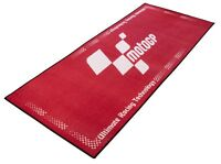 NEW MOTOGP MOTO GP RED WHITE WORKSHOP GARAGE PIT MAT RUBBER BACKED 190 x 80cm