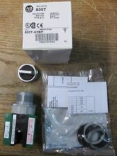 NEW NOS Allen Bradley 800T-H2BP Selector Switch 2 Position Maintained Black