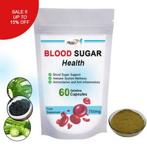 SUGAR BALANCE Diabetic Health, Blood Sugar Balance, Cumin & Bitters 60 capsules