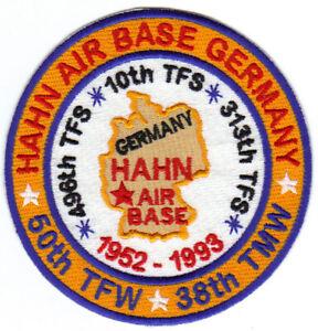 HAHN AIR BASE, GERMANY, 50TH TFW, 38TH TMW        Y