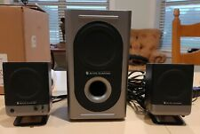 Altec Lansing 221 Amplified Active 2.1 Powered Computer Speakers with Subwoofer