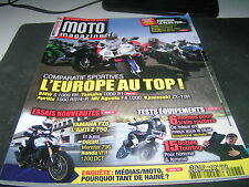 *** Moto Magazine n°268 BMW  K 1200 S , R et R sport / Honda VFR 750 F