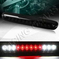 BLK/SMOKE 12-LED THIRD BRAKE TAIL LIGHT FIT 07-14 CHEVY SILVERADO 2500HD 3500HD