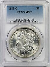 1885-O $1 PCGS MS 67 Morgan Silver Dollar