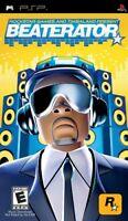 Beaterator (Sony PSP, 2009) Brand New & Sealed Rockstar Games