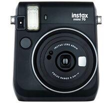 Fuji Instax Mini 70 Instant Camera with 10 Shots - Black