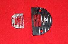 SINGLE NEEDLE SEWING MACHINE Needle Plate , Feeddog Heavy 143402 & 149009
