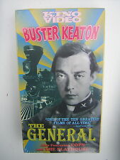 "Buster Keaton in ""The General"" 1926 Film Classic Vhs Movie Mib + two other films"