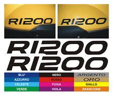 Adesivi serbatoio  BMW GS R 1200  - adesivi/adhesives/stickers/decal