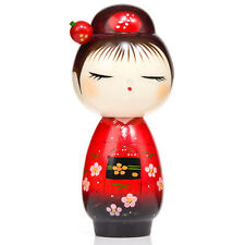 Pretty Red Hairpin Japanese Kokeshi Doll
