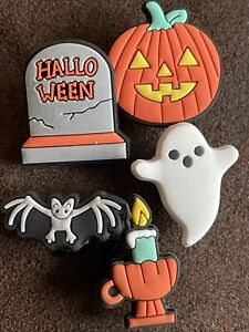 5 HALLOWEEN Themed Cake Decorations Shoe Charms Compatible With Crocs Sandals