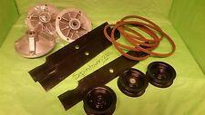 Deck Rebuild Kit BLADES PULLEYS SPINDLES BELT Toro TimeCutter Z5000 Z5020 Z5030