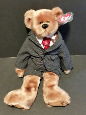 "1993 Ty Plush 13"" William the Bear W/Suit"