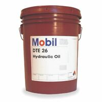 MOBIL 105475 Mobil DTE 26, Hydraulic, ISO 68, SAE Grade 20, 5 gal.