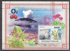 Orchidee/Togo MiNr Block 572 **