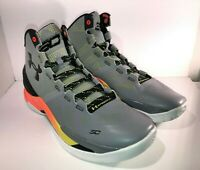 Under Armour Curry 2 - Size 13 Forging Iron Sharpens SC30 1259007 035 WARRIORS